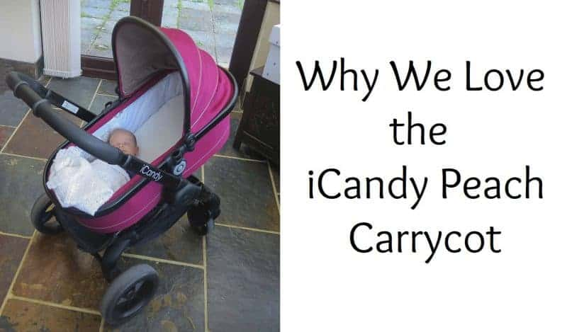 Why We Love the iCandy Peach Carrycot