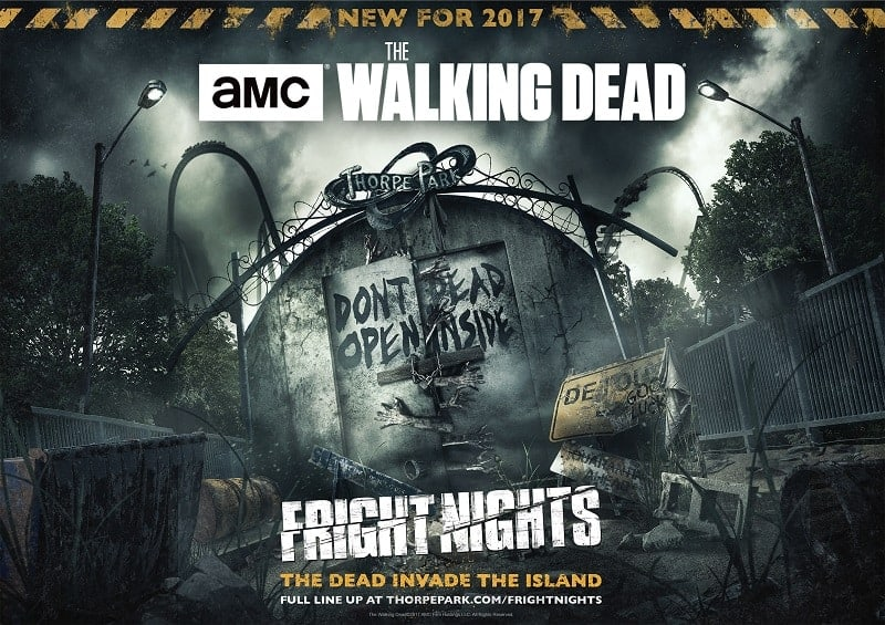 The Walking Dead Invades Thorpe Park For Their Fright