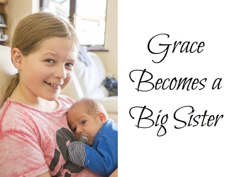 Grace Becomes a Big Sister