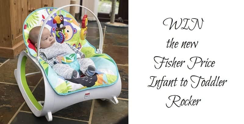 WIN the New Fisher Price Infant to Toddler Rocker **Review Included**