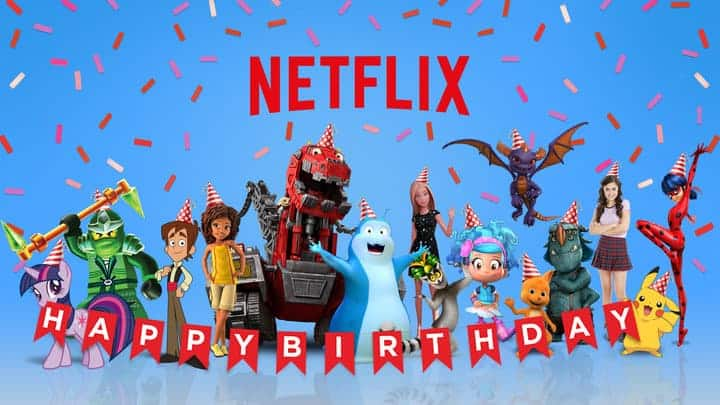 Netflix and their brand-new Birthdays On-Demand feature