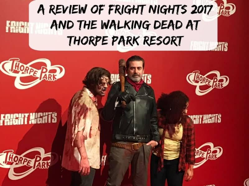 A Review of Fright Nights 2017 and The Walking Dead at Thorpe Park Resort