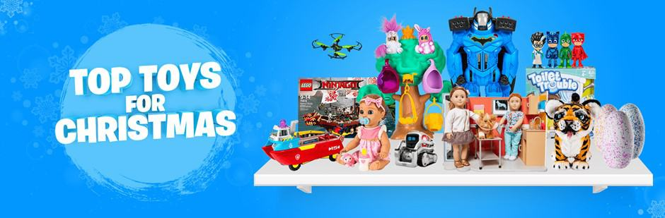 The Top Toys List for Christmas from Smyths Toys