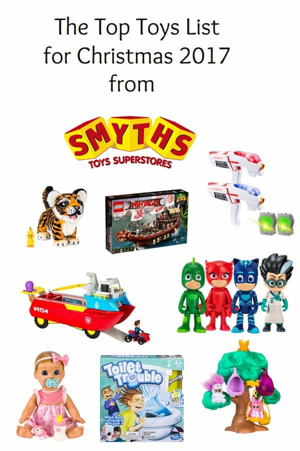 the top toys list for christmas 2017 from smyths toys