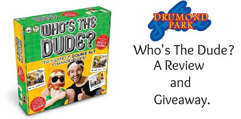 Drumond Park Who's The Dude? Game. A Review and Giveaway