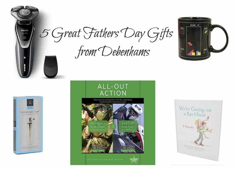 5 Great Fathers Day Gifts from Debenhams