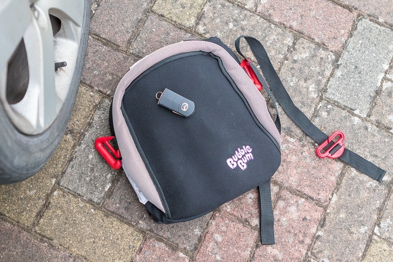 A Review of the BubbleBum Travel Car Booster Seat PLUS GIVEAWAY
